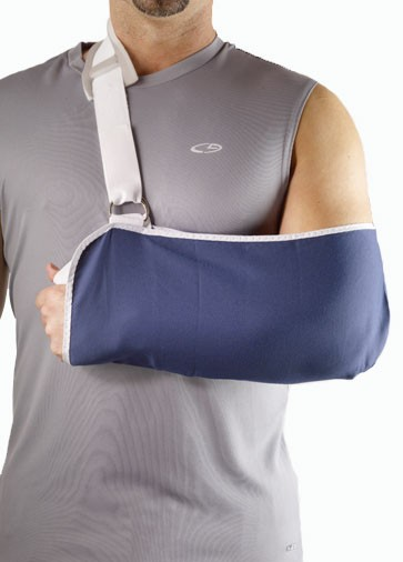 how to make a sling for a broken arm